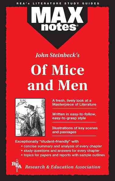 John Steinbeck's of Mice and Men By Scalia, Joseph E./ Shamblin, Lena T./ Research and Education Association (COR)